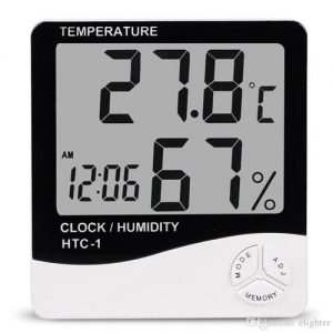 HTC-1 Digital Thermometer Hygrometer Weather