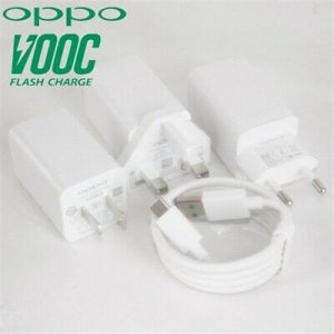 Original OPPO Fast Charger with USB Cable