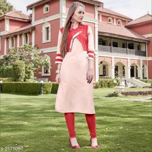 Trendy Cotton Linen Women's Kurtis Vol 1